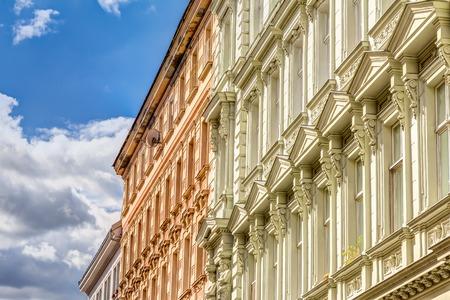 Historic buildings in the old town Bratislava, Slovakia