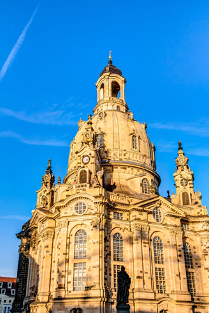 rebuilt: Church of our Lady - Frauenkirche in Dresden