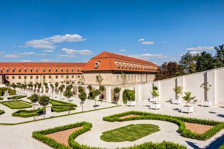 Courtyard of the Bratislava castle in Slovakia