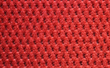 upholster: red upholster texture of armchair close-up