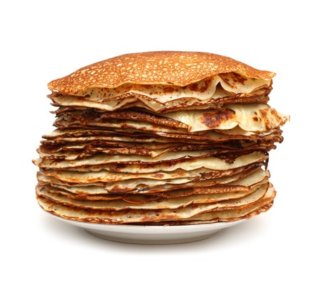 stack of pancakes - russian traditional food Stock Photo - 4424798