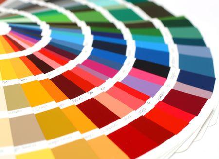descriptive color: open RAL sample colors catalogue