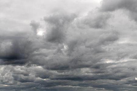 dull cloudy gray overcast sky background Stock Photo - 5537755