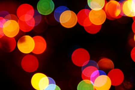 defocused colored circular lights backgrounds  Stock Photo - 7934749