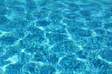 rimpeling: zwembad met rimpel turquoise water achtergrond