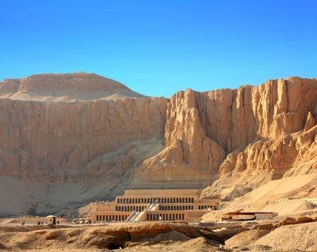 berühmte antike Tempel der Hatschepsut in Luxor, Ägypten