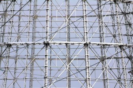 abstract steel truss - modern design photo