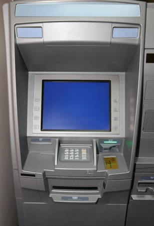 entry numbers: atm - cash dispense bank machine