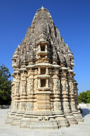 ranakpur hinduism temple in rajasthan india  photo