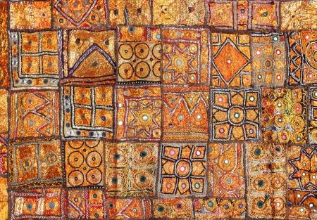 india fabric background patchwork ornate Stock Photo - 17969778