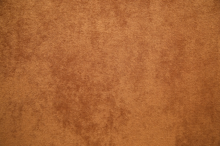 carpet texture: brown plush fabric close-up - texture Stock Photo