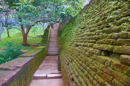 sigiriya: Stairway in Sigiriya Lion Castle, Sri Lanka