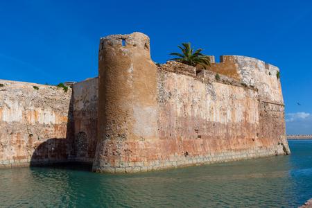 Old fort in portuguese city El Jadida in Morocco, Africa Stock fotó