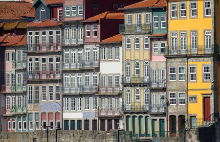 Traditional houses of Porto, Portugal 写真素材