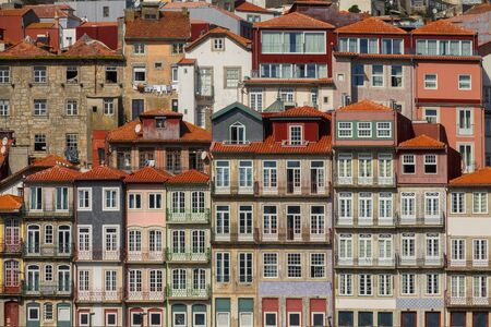 Traditional houses of Porto, Portugal Stock Photo