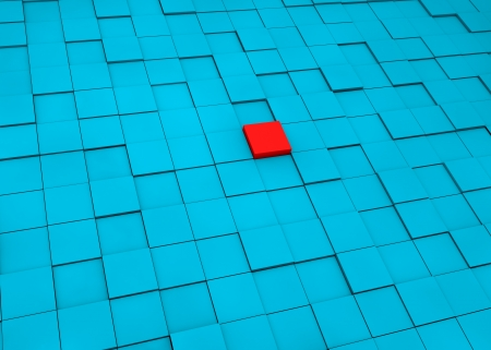 enmity: Red cube