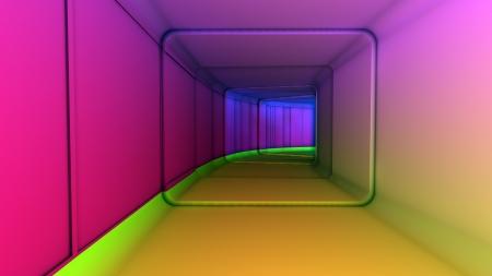 Futuristic Interior Stock Photo - 17231473