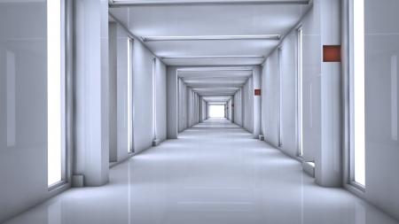 Futuristic Interior Stock Photo - 17231477