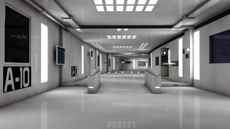 Futuristic room