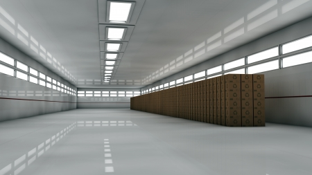 Futuristic storage Stock Photo - 17603993