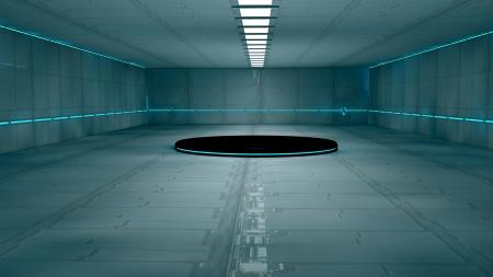 Scifi design interior