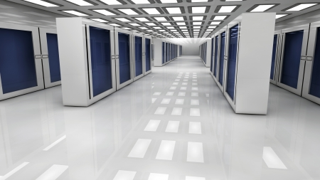 server farm: Render farm Stock Photo