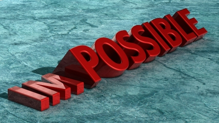 transformed: Palabra imposible transformado en posible