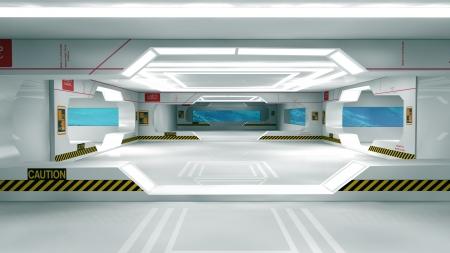 Futuristic interior  SCIFI