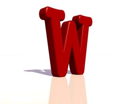 cheery: Letter w