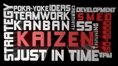 Kaizen Stock Photo