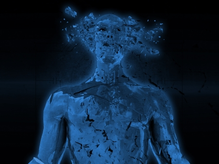 shatter: Human explode