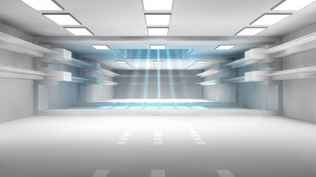 Futuristische interieur SCIFI