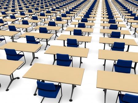 Infinite classroom photo