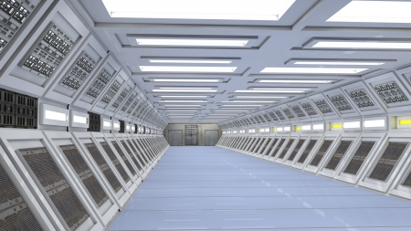 futurity: Futuristic interior