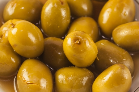 Spanish olives photo