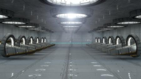 sci: Interior futurista