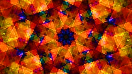 kaleidoscope: Abstract background Stock Photo