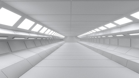 Futuristic interior  SCIFI photo
