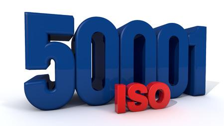ISO 50001 Stock Photo