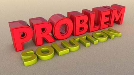problem solution: Problem and solution