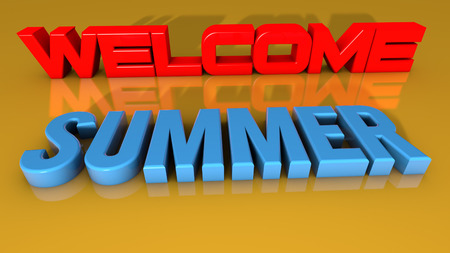 Welcome summer photo