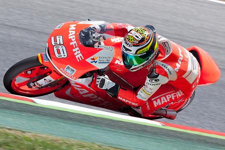 Barcelona, Spain - June 13,14,15, 2014  Monster Energy Grand Prix of Catalunya MotoGP  Driver HAFIQ AZMI  SIC-AJO team
