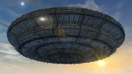 UFO attack photo