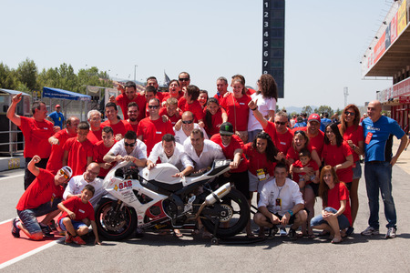 motorcycling: Team Gas Endurance  24 hours OF CATALONIA Motorcycling competition  July, 5, 2014 Editorial