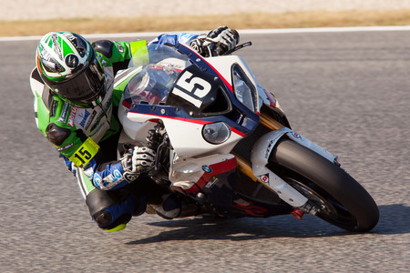 Rider Josep Monge  Team DR Racing Endurance  24 hours OF CATALONIA Motorcycling competition  July, 5, 2014