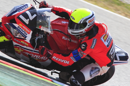motorcycling: Rider Chetry  Team Monlau Repsol  24 hours OF CATALONIA Motorcycling competition  July, 6, 2014