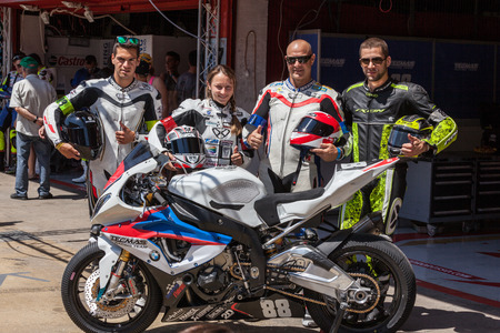 motorcycling: Team Tecmas Endurance  24 hours OF CATALONIA Motorcycling  July, 5, 2014