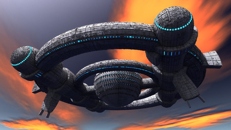 UFO concept Stock Photo - 30835931