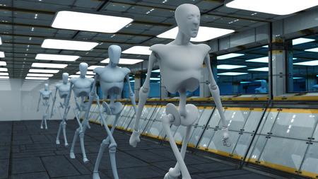 SCIFI Robots photo