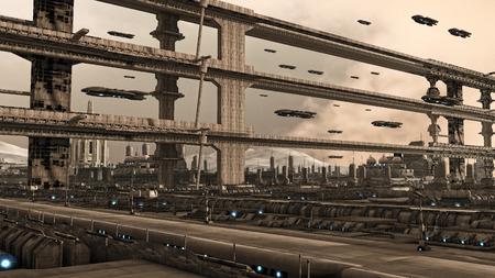 未来都市 写真素材 - 31416435